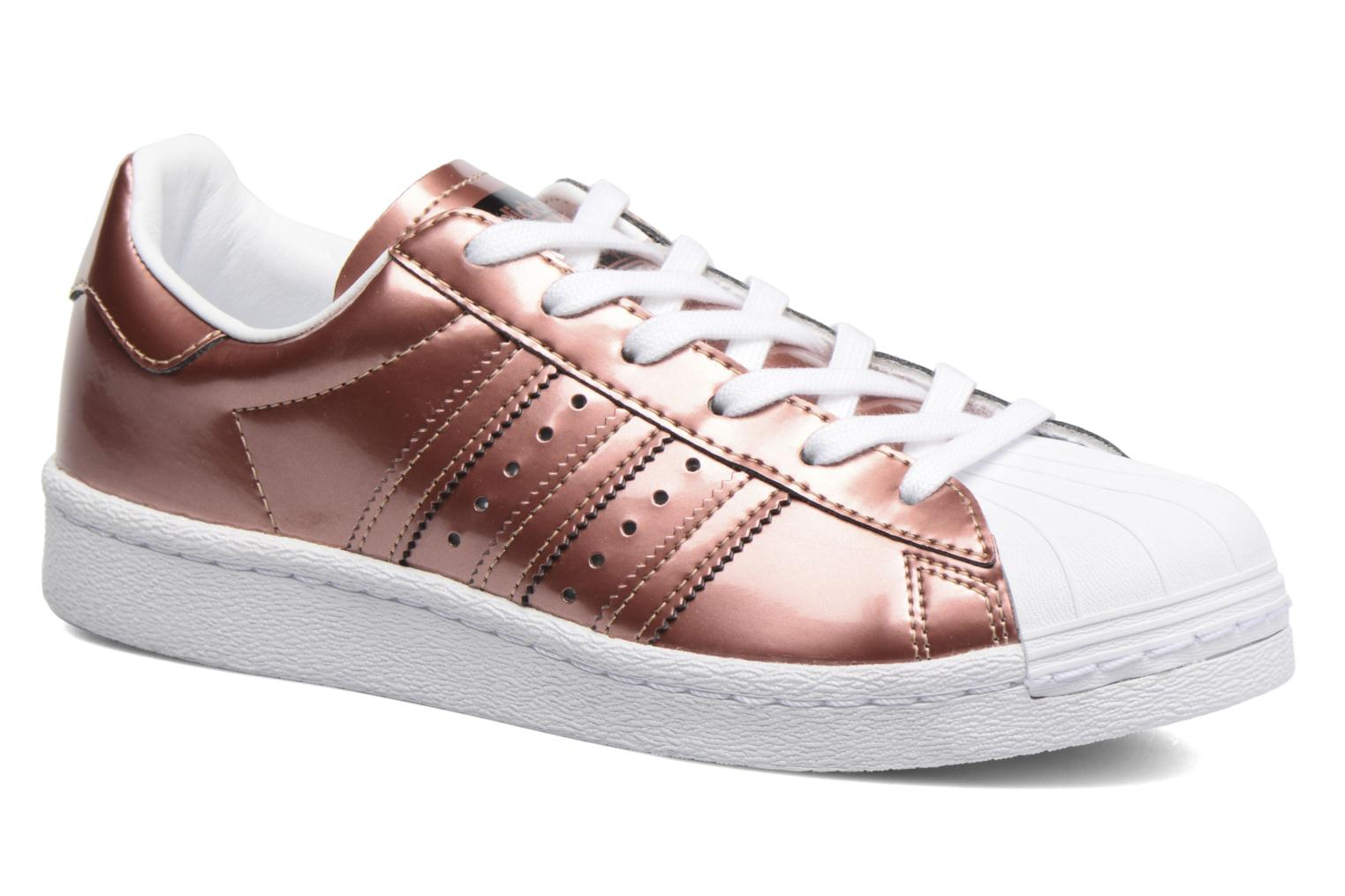 Baskets Adidas Originals Superstar W Or et bronze vue détail/paire