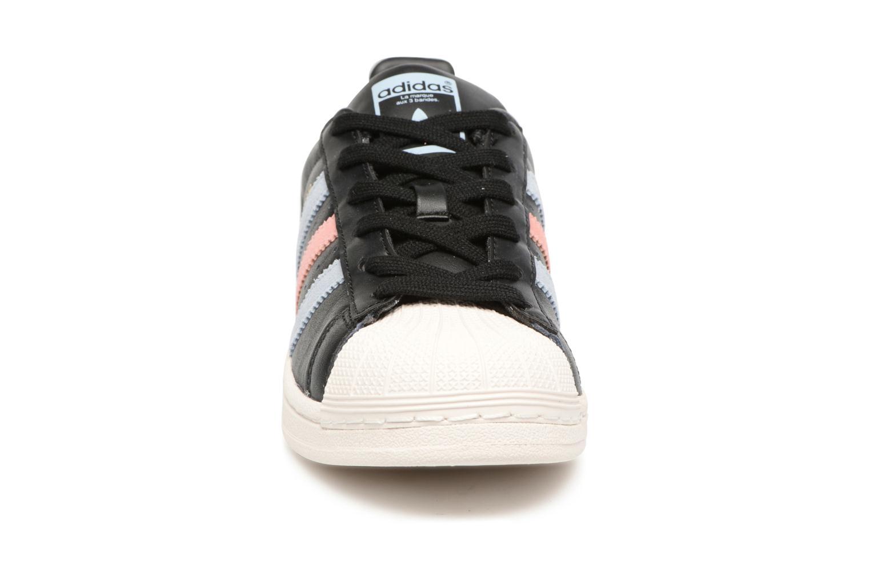 Trainers Adidas Originals Superstar W Black model view