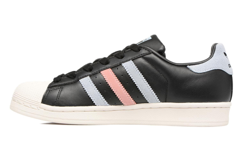 Trainers Adidas Originals Superstar W Black front view