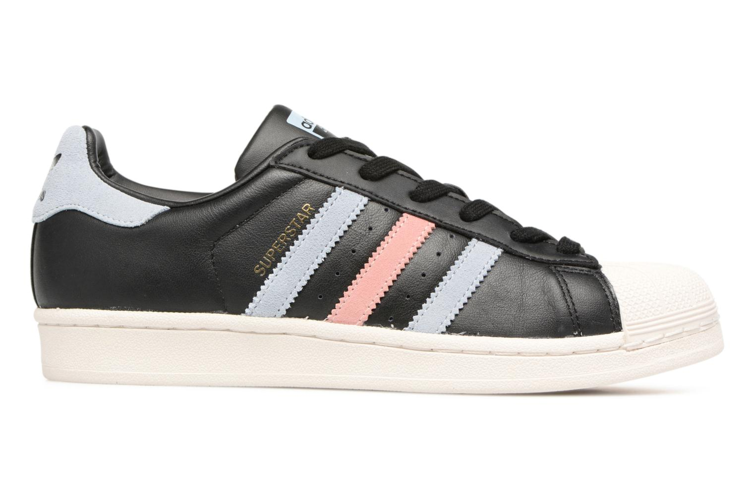 Baskets Adidas Originals Superstar W Noir vue derrière