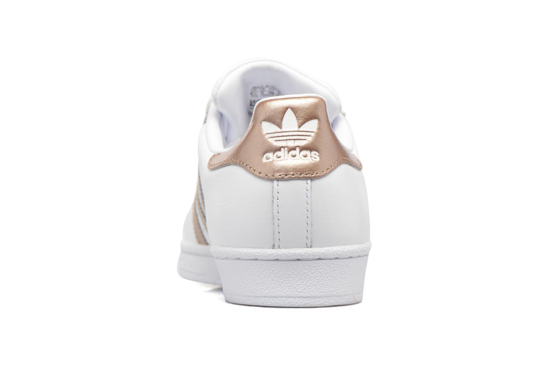 Sneakers Adidas Originals Superstar W Vit Bild från höger sidan