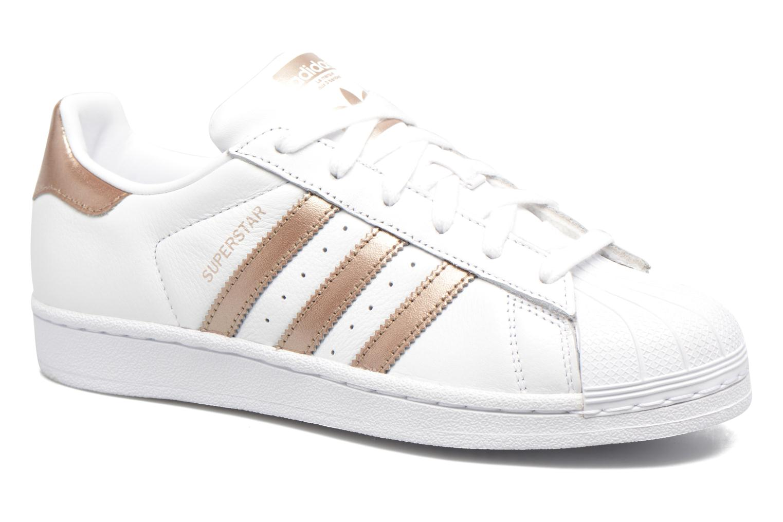 Sneakers Adidas Originals Superstar W Vit detaljerad bild på paret
