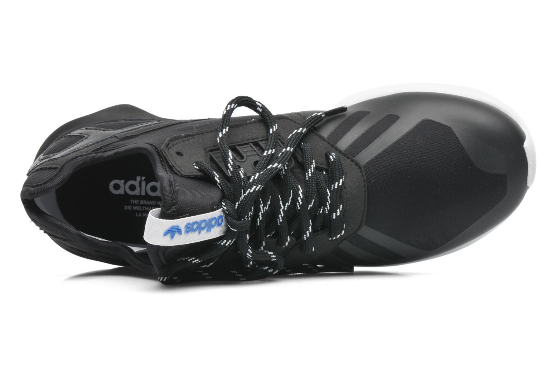 Sneaker Adidas Originals Tubular Runner schwarz ansicht von links