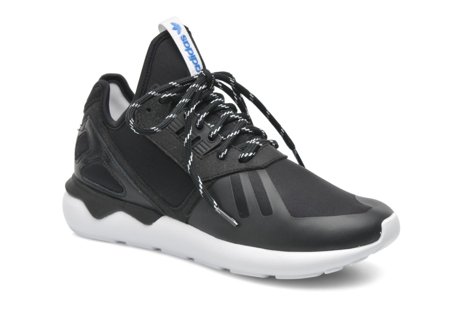 Trainers Adidas Originals Tubular Runner Black detailed view/ Pair view