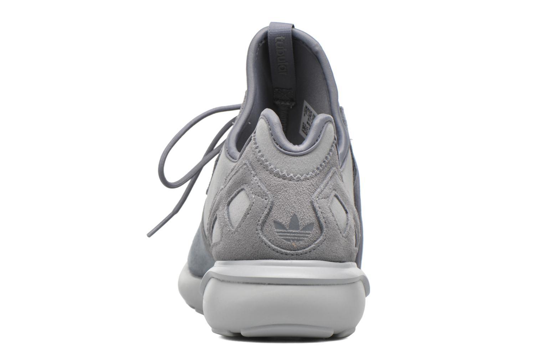 Baskets Adidas Originals Tubular Runner Gris vue droite