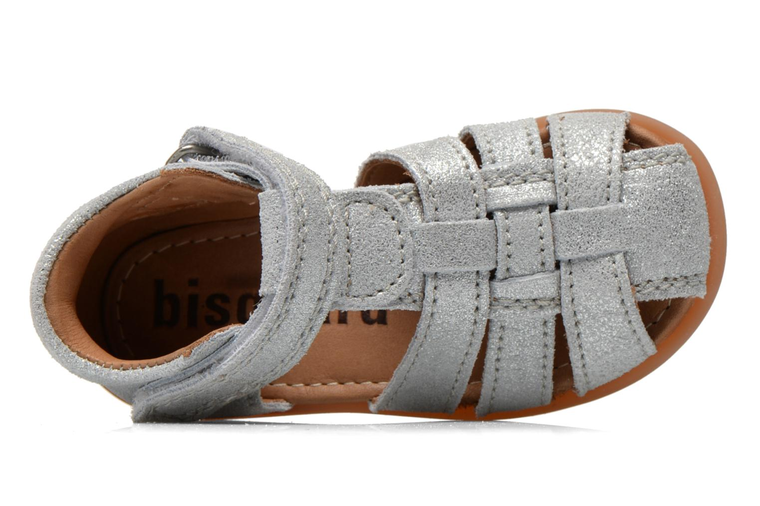Sandals Bisgaard Birthe Silver view from the left