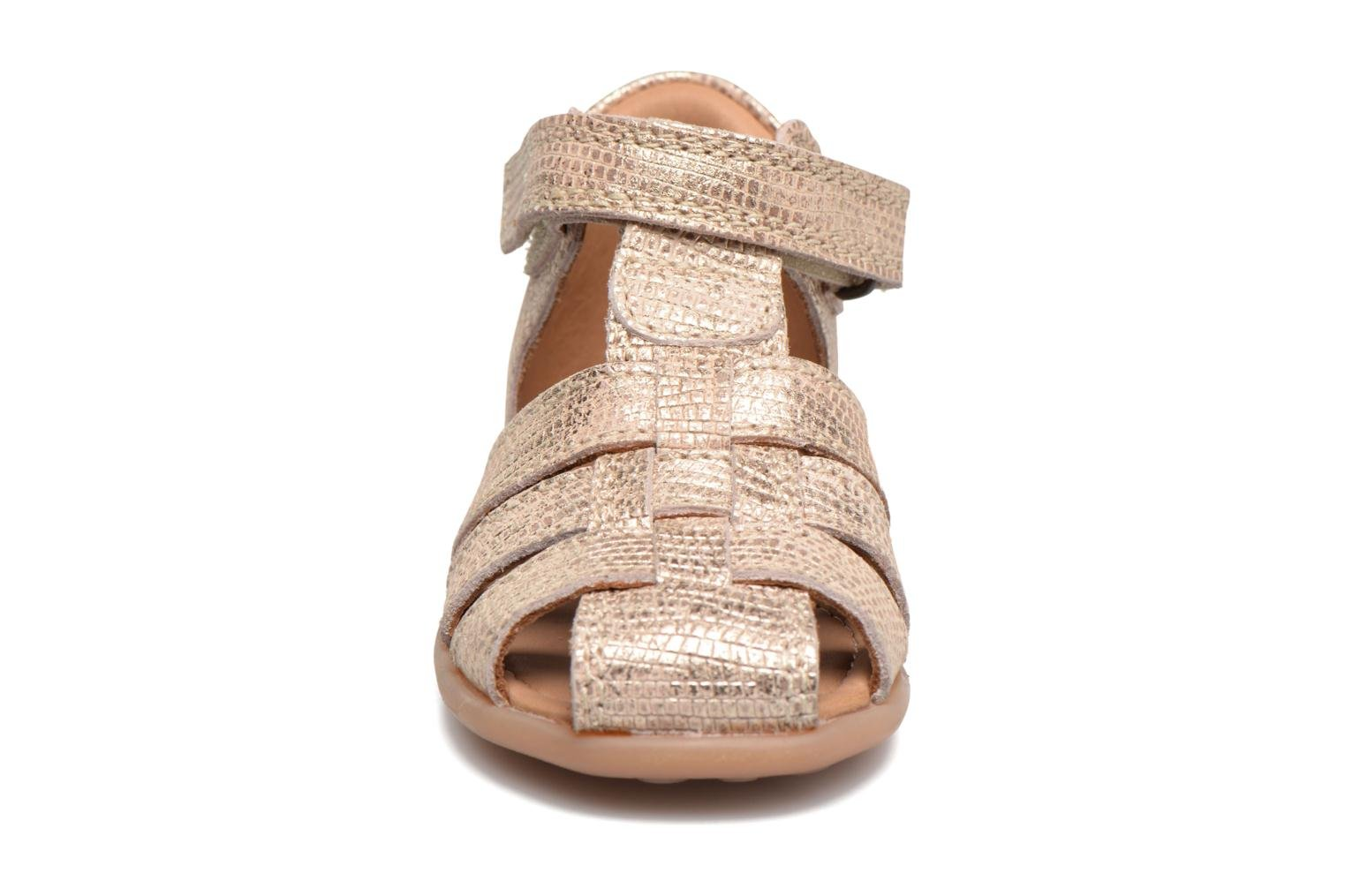 Sandals Bisgaard Birthe Bronze and Gold model view