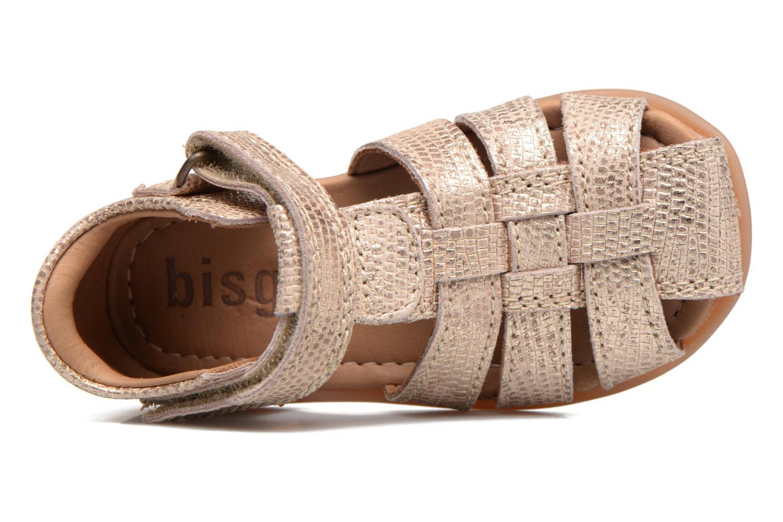 Sandales et nu-pieds Bisgaard Birthe Or et bronze vue gauche