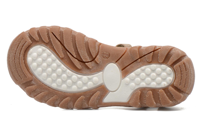 Sandales et nu-pieds Bisgaard Karen Or et bronze vue haut