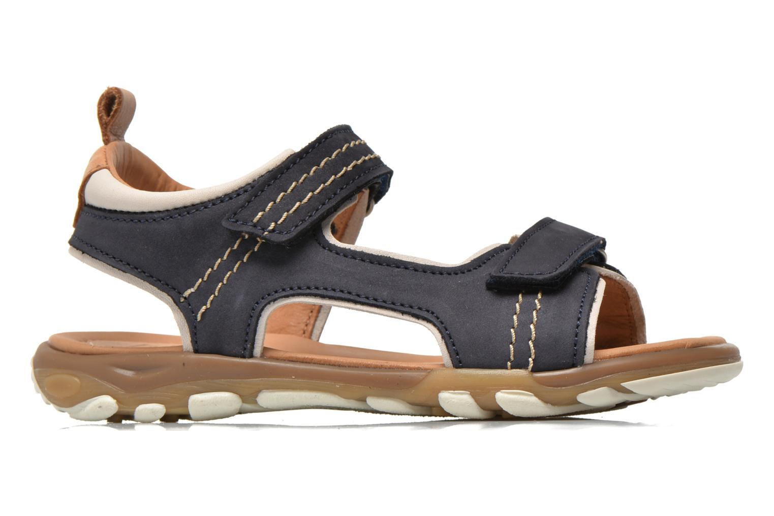Sandals Bisgaard Morten Blue back view