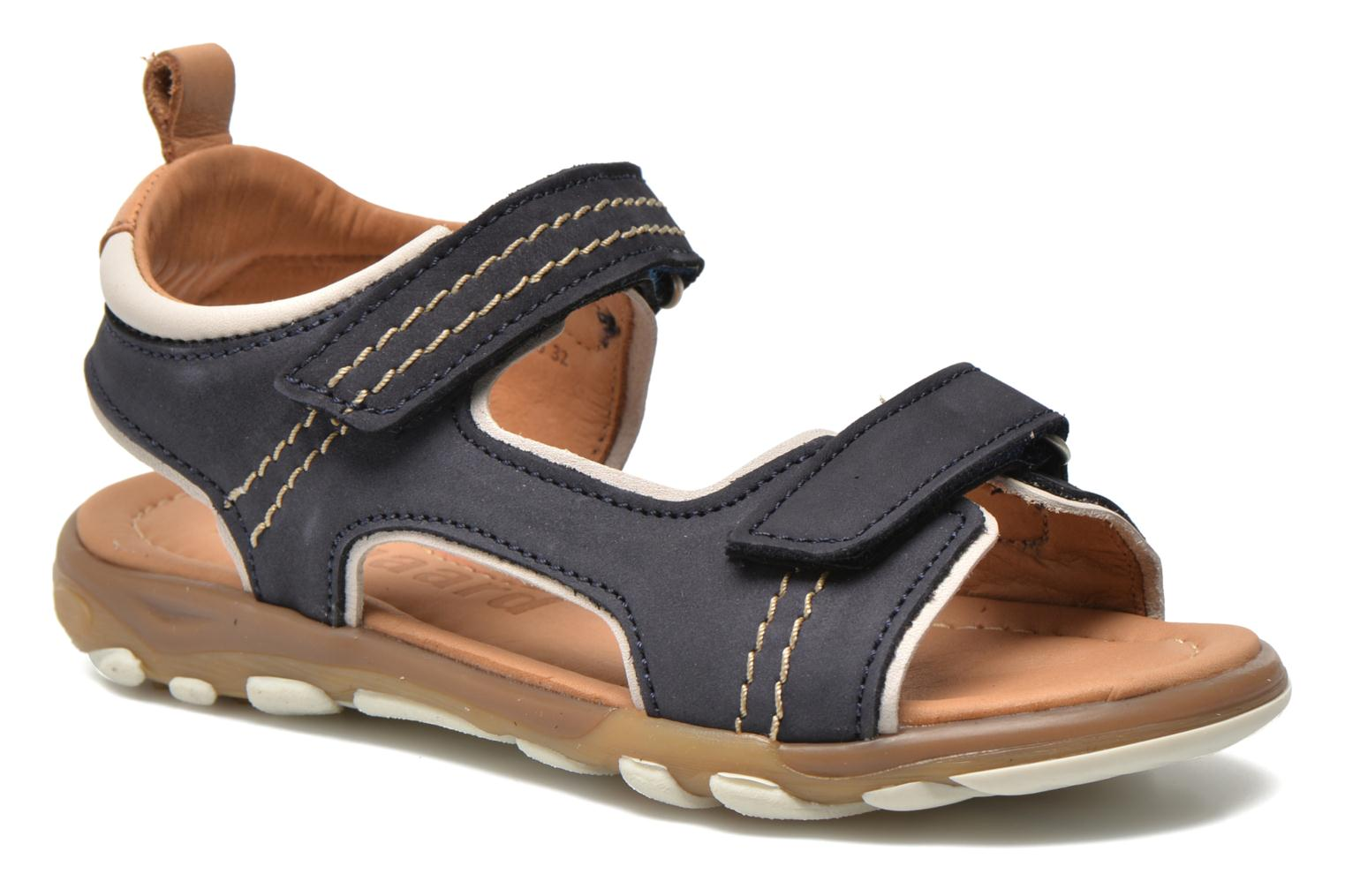 Sandals Bisgaard Morten Blue detailed view/ Pair view