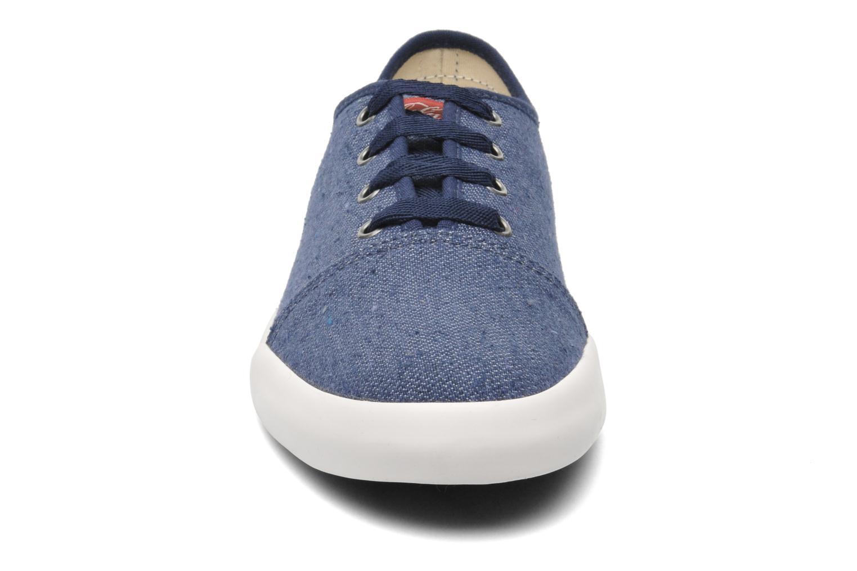 Baskets Coca-cola shoes Wake Bleu vue portées chaussures