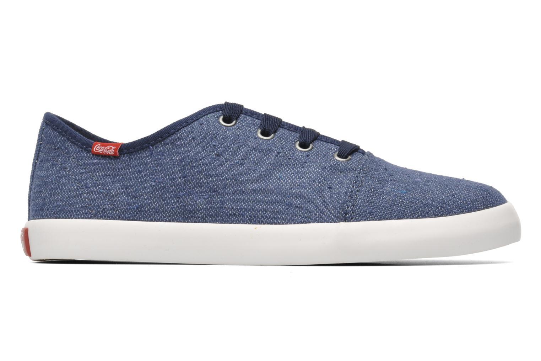 Sneaker Coca-cola shoes Wake blau ansicht von hinten
