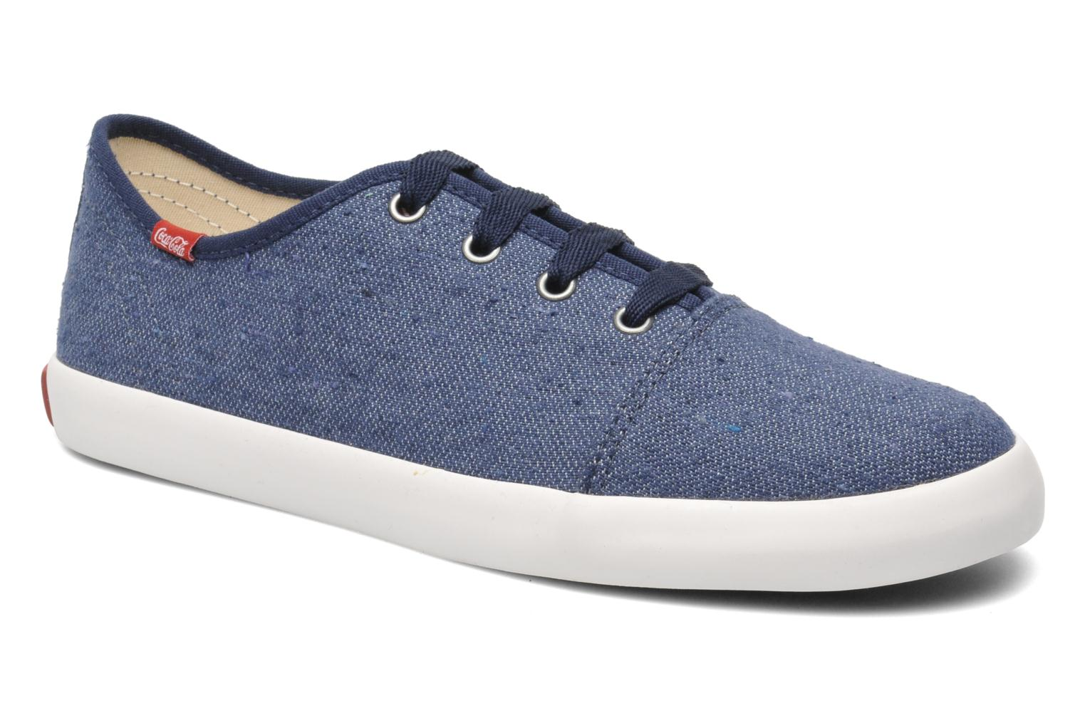 Sneakers Coca-cola shoes Wake Blauw detail