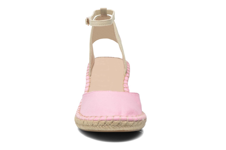 Sandali e scarpe aperte Coca-cola shoes Juta City Rosa modello indossato