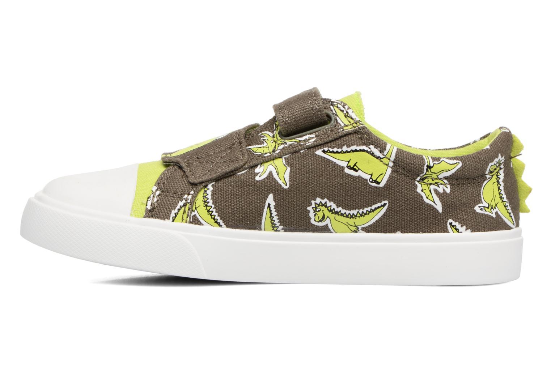 Sneakers Clarks Tricer Roar Grøn se forfra