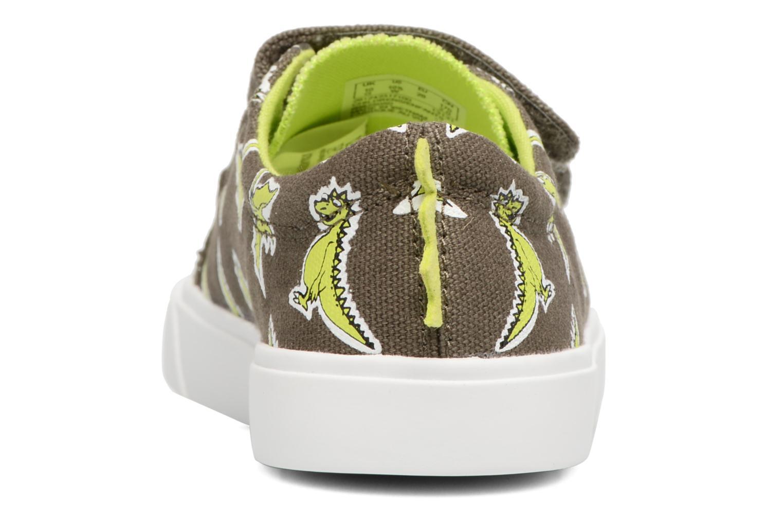 Sneakers Clarks Tricer Roar Grøn Se fra højre