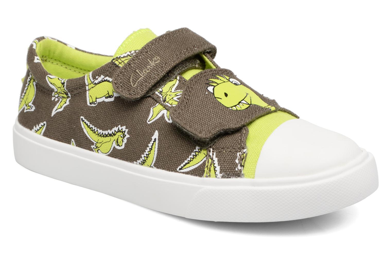 Sneakers Clarks Tricer Roar Grøn detaljeret billede af skoene