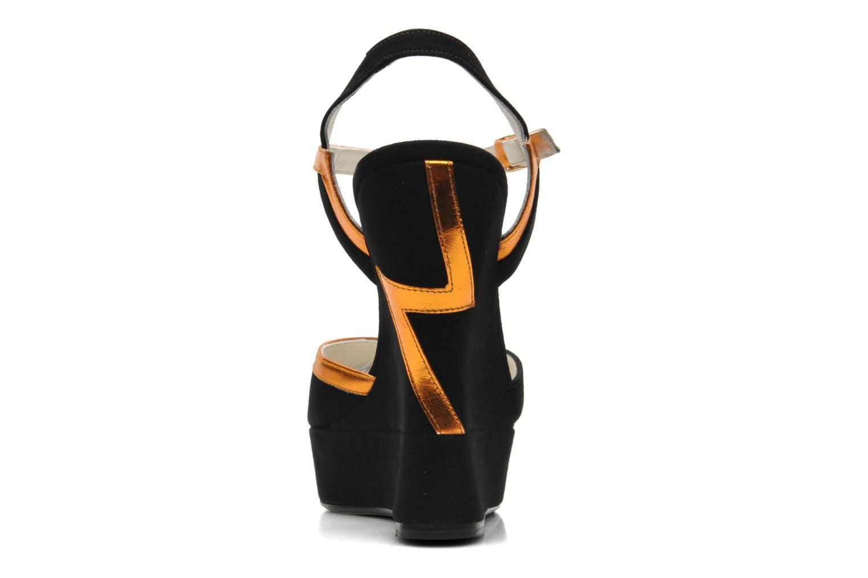 Sandali e scarpe aperte Terry de Havilland Izzy Nero immagine destra