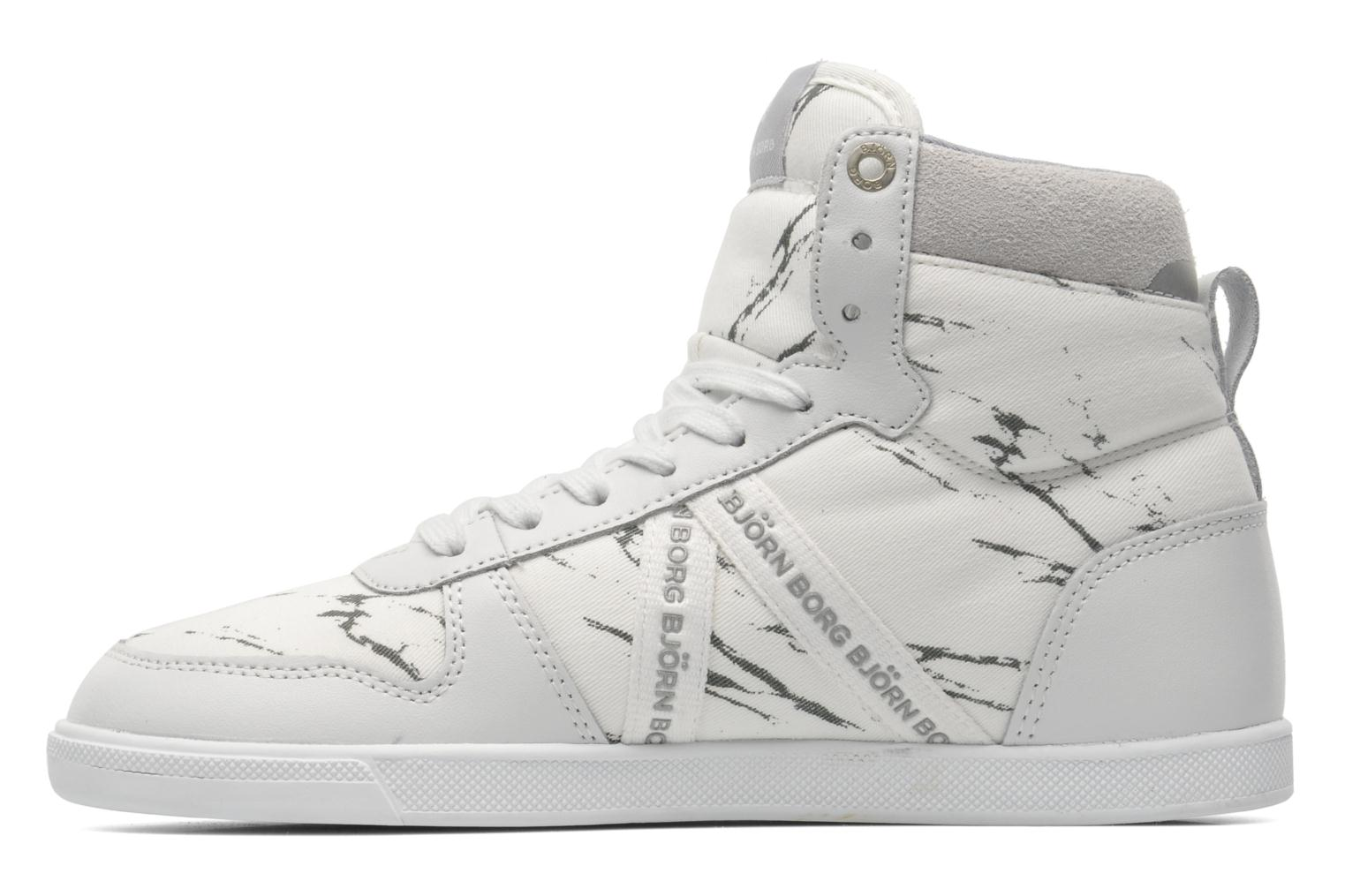 Trainers Björn Borg X100 MID MRB W White front view