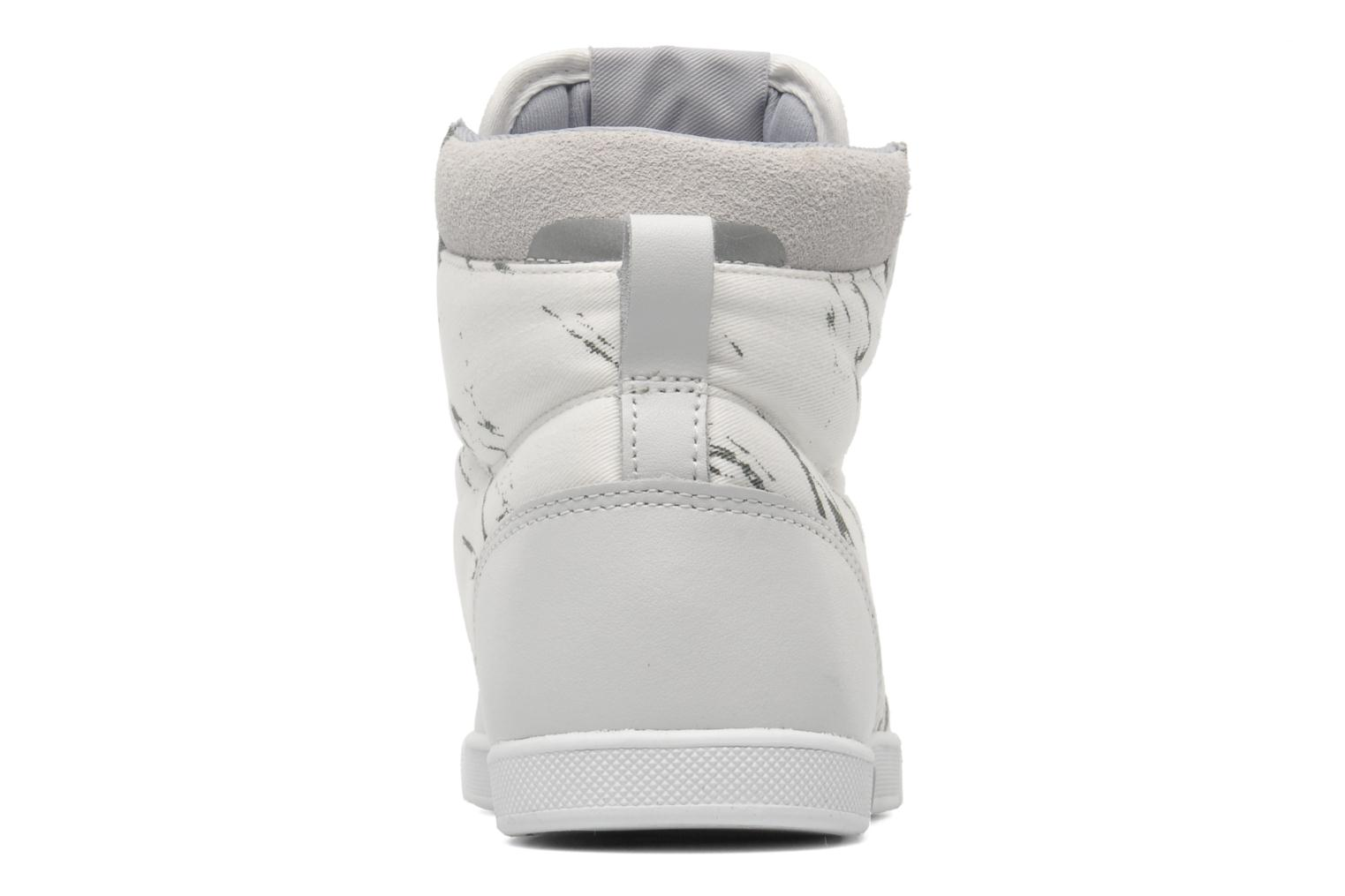 Trainers Björn Borg X100 MID MRB W White view from the right