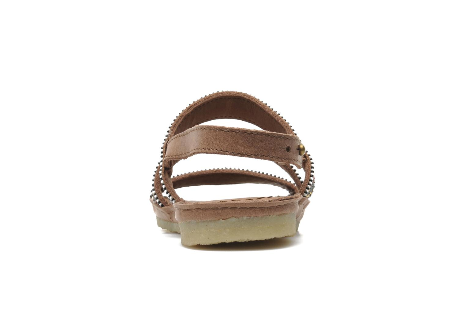 Sandals Laidback London Gatsby Brown view from the right