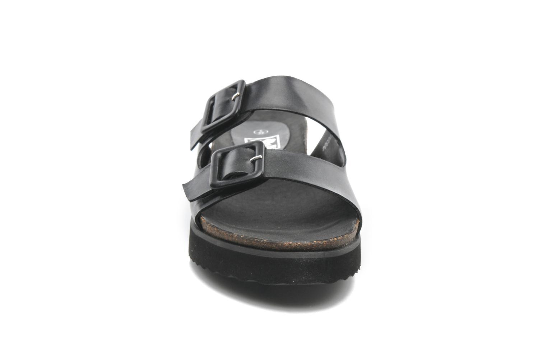 Mules et sabots Spot On Amaryllis Noir vue portées chaussures