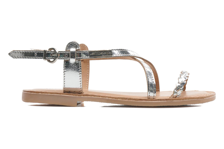 Sandales et nu-pieds Les Tropéziennes par M Belarbi Baladin Argent vue derrière