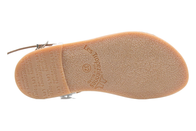 Sandales et nu-pieds Les Tropéziennes par M Belarbi Baladin Argent vue haut