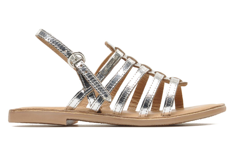 Sandali e scarpe aperte Les Tropéziennes par M Belarbi Mangue Argento immagine posteriore
