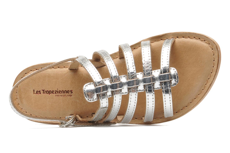 Sandales et nu-pieds Les Tropéziennes par M Belarbi Mangue Argent vue gauche