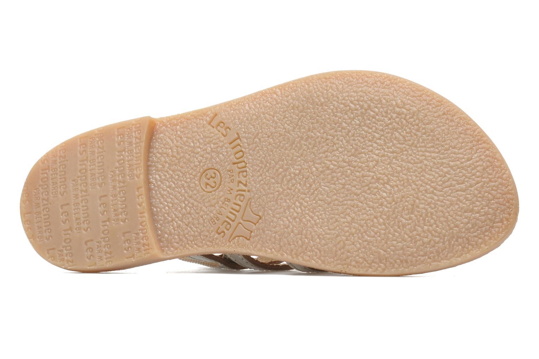 Sandales et nu-pieds Les Tropéziennes par M Belarbi Mangue Argent vue haut
