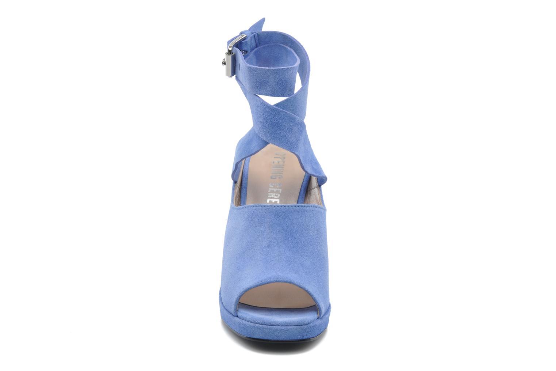 Sandalen Opening Ceremony Emi platform sandal blau schuhe getragen