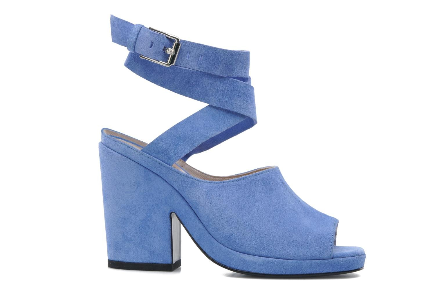 Sandals Opening Ceremony Emi platform sandal Blue back view