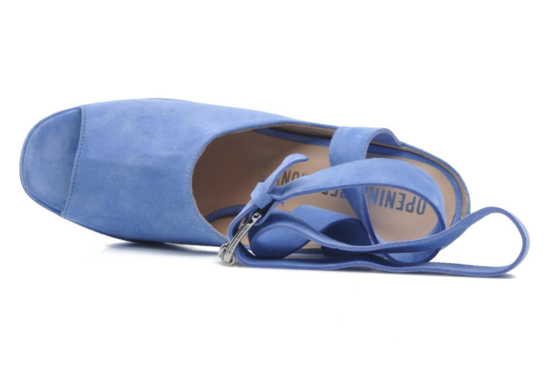 Sandalen Opening Ceremony Emi platform sandal blau ansicht von links