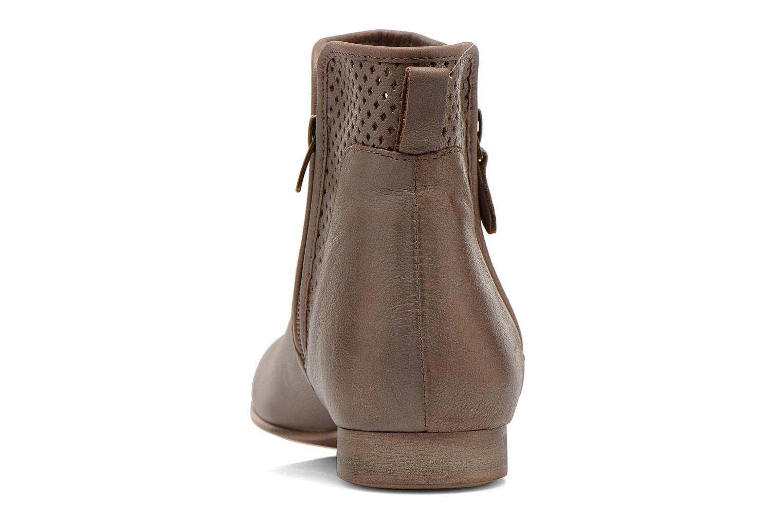 Bottines et boots Karston Joani Marron vue droite