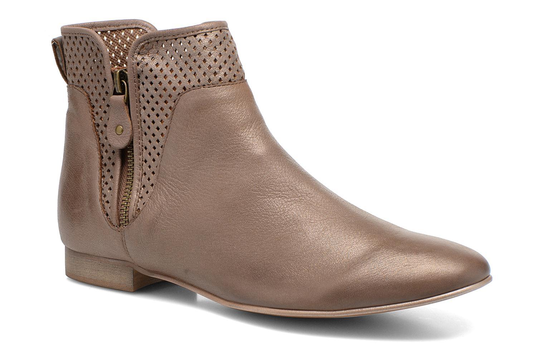 Bottines et boots Karston Joani Marron vue détail/paire