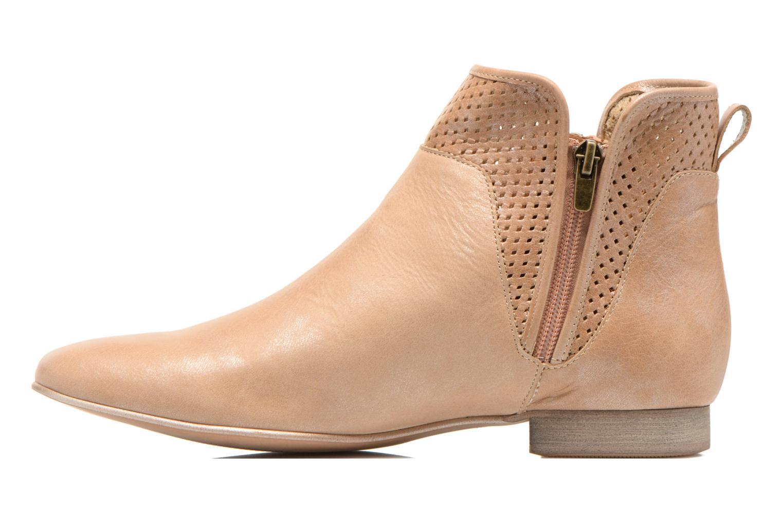 Bottines et boots Karston Joani Beige vue face
