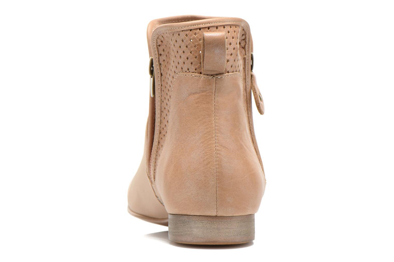 Bottines et boots Karston Joani Beige vue droite