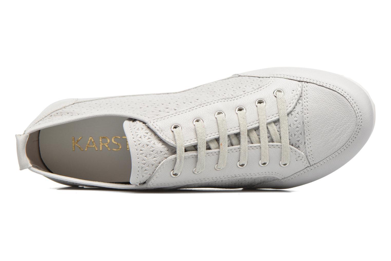 Sneaker Karston Cacao grau ansicht von links