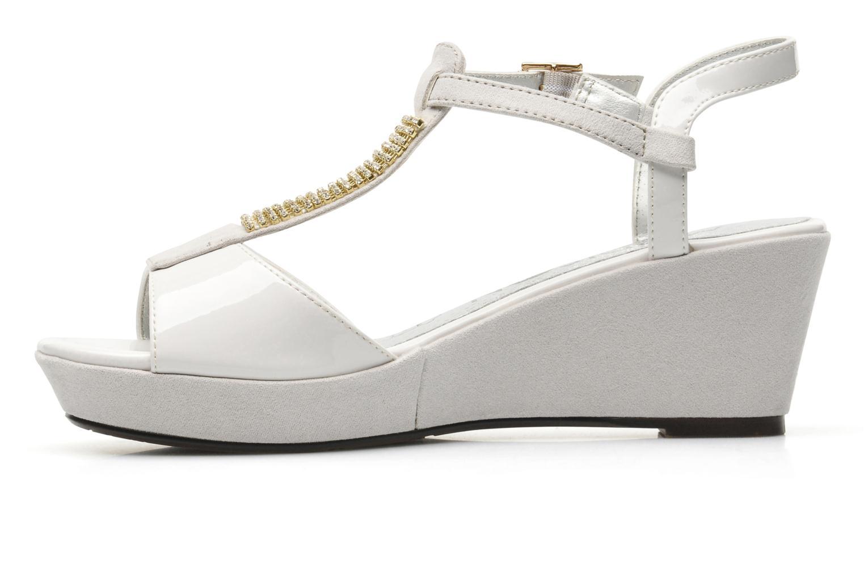 Sandales et nu-pieds Madison Escada Blanc vue face