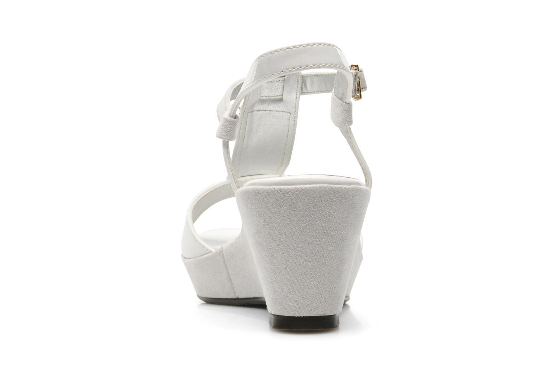 Sandales et nu-pieds Madison Escada Blanc vue droite