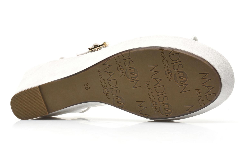 Sandales et nu-pieds Madison Escada Blanc vue haut