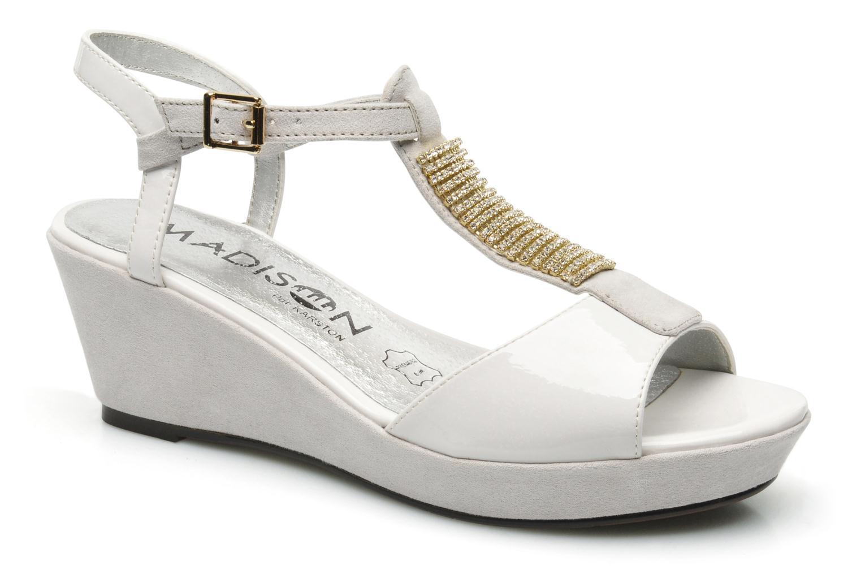 Sandales et nu-pieds Madison Escada Blanc vue détail/paire