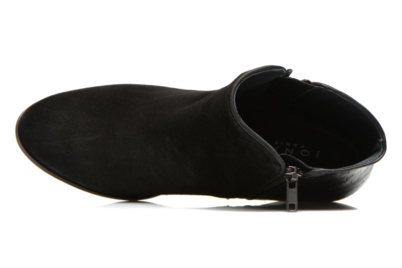 Botines  Jonak Douti Negro vista lateral izquierda