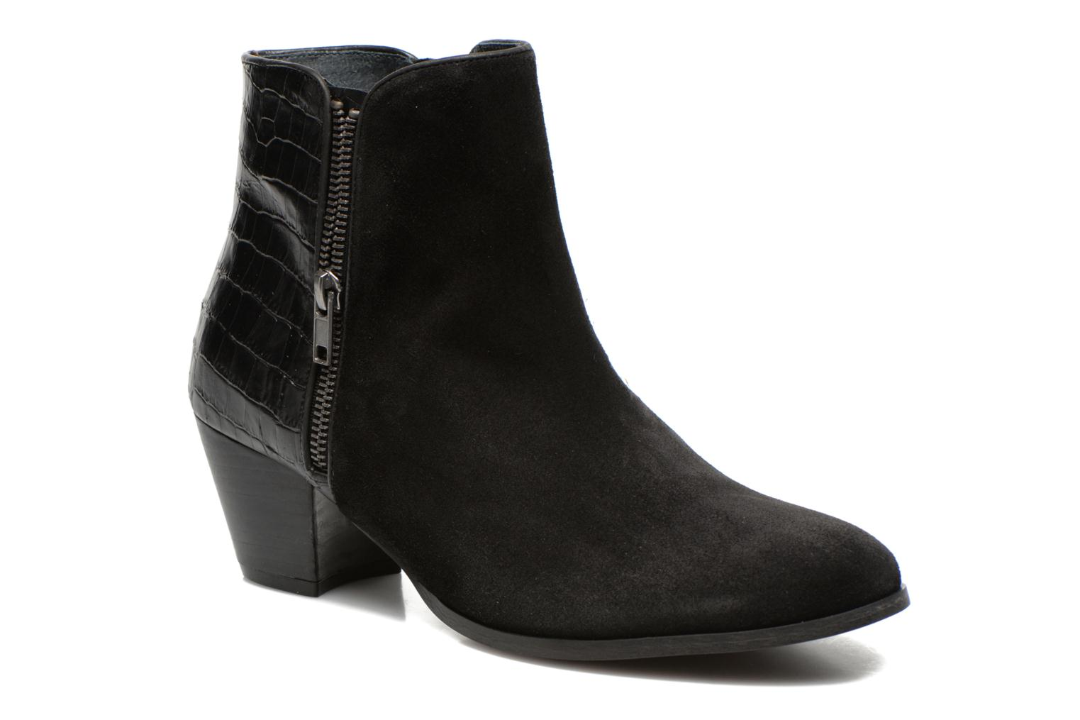 Ankle boots Jonak Douti Black detailed view/ Pair view