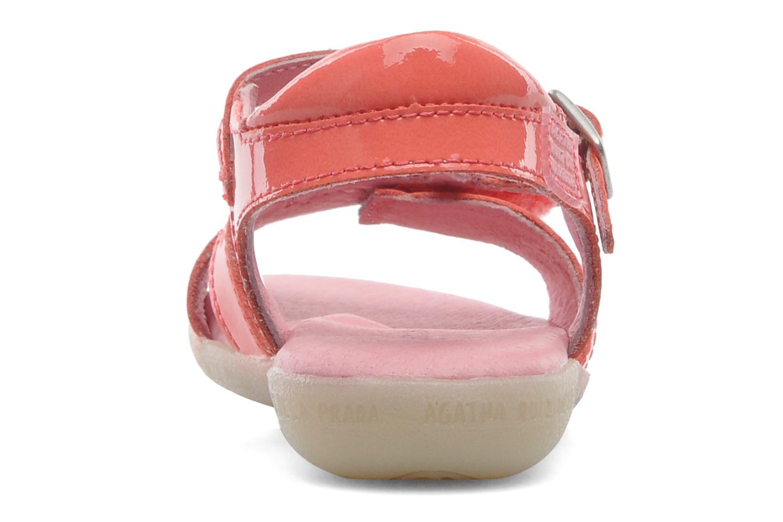Sandales et nu-pieds Agatha Ruiz de la Prada Cereza Rose vue droite