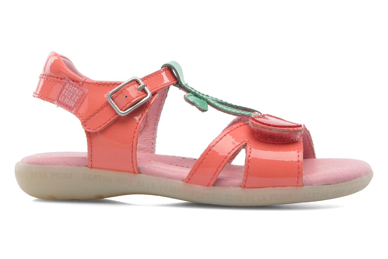 Sandales et nu-pieds Agatha Ruiz de la Prada Cereza Rose vue derrière