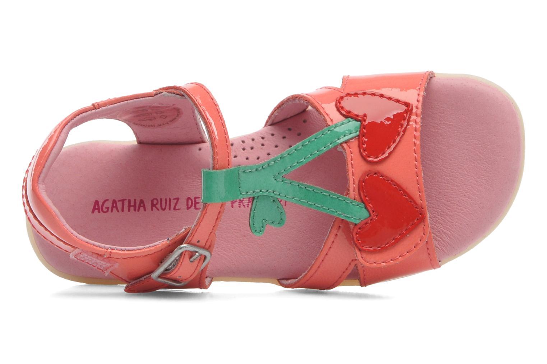 Sandales et nu-pieds Agatha Ruiz de la Prada Cereza Rose vue gauche