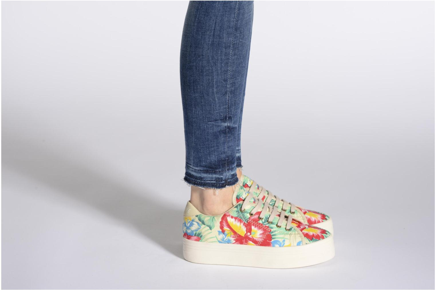 Trainers No Name Plato Sneaker Tropics Multicolor view from underneath / model view